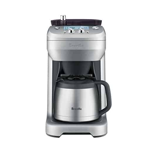 Breville grind and brew coffee machine