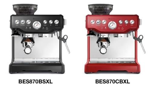 Breville BES870BSXL Espresso Machine