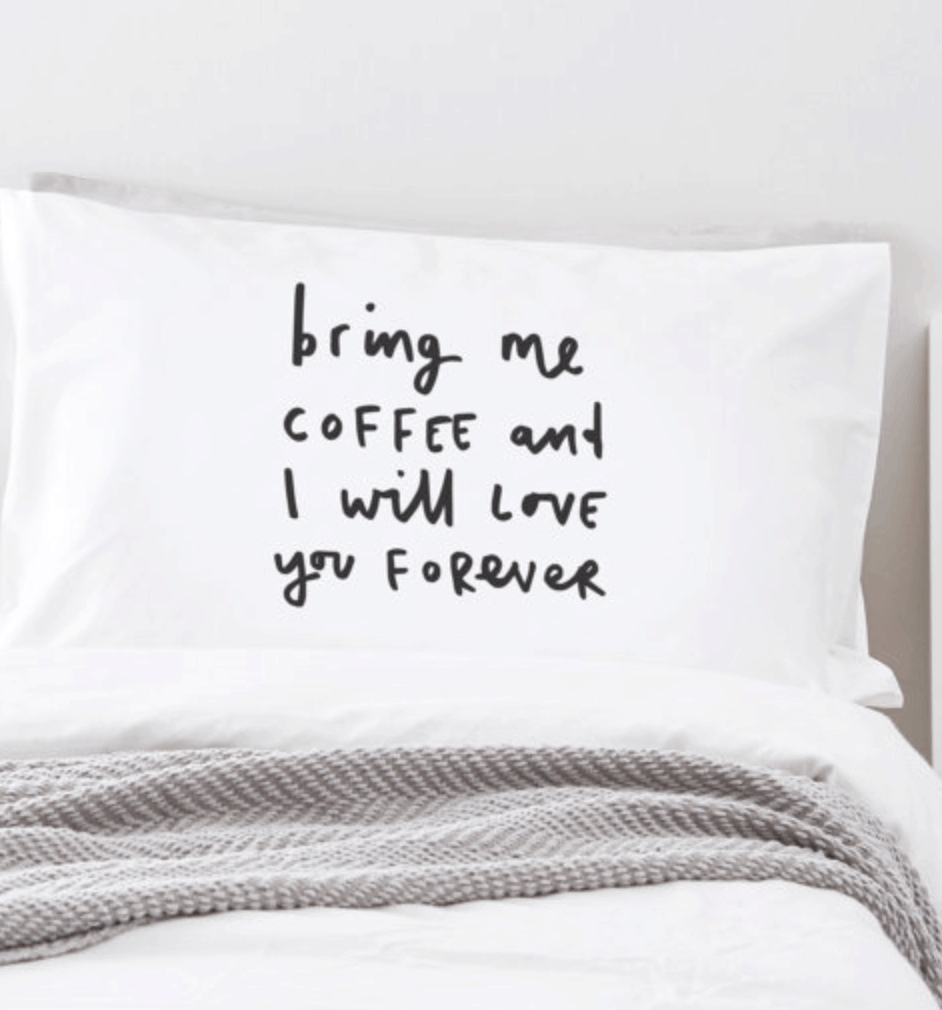 Coffee Pillow Coffee gift guide