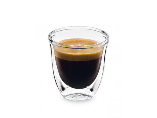 A single shot of espresso